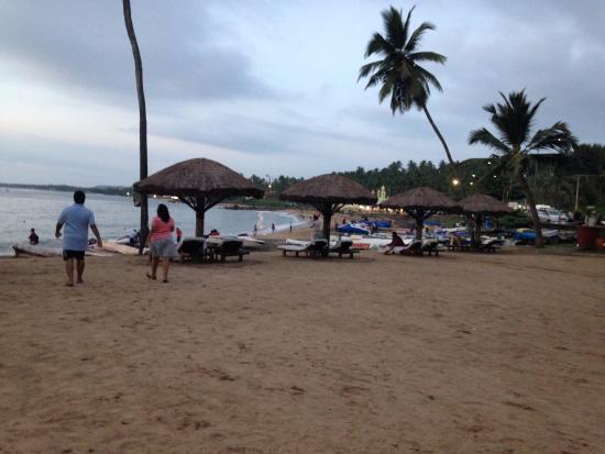 The Leela Raviz Kovalam Semi Private Beach