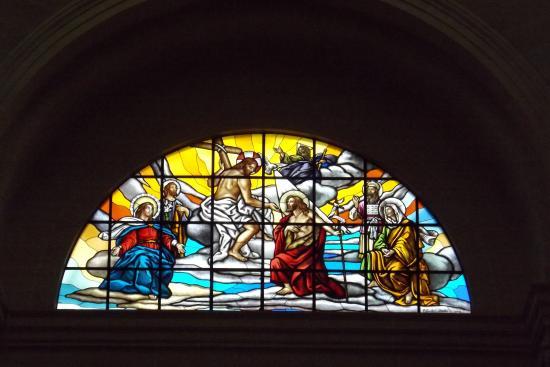 Xewkija, مالطا: Window in church