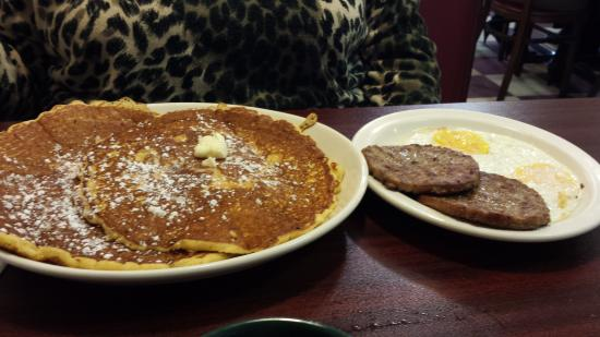 Macedonia, OH: her two plates