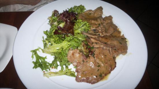 Osteria Riva: Veal scaloppine