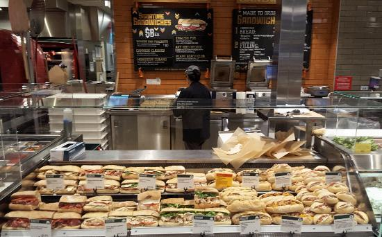 Sandwich Counter Picture Of Whole Foods Market
