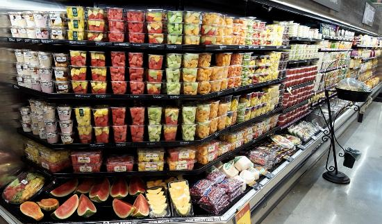 Packaged cut fruit picture of whole foods market for American wholefoods cuisine