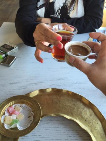 Nowy Efendi Hotel: Turkish Coffe and Tea