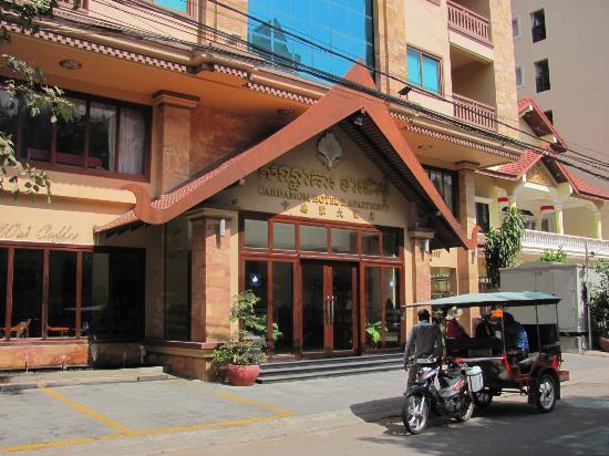 Hoteleingang Picture Of Cardamom Hotel Phnom Penh Tripadvisor