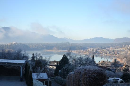Drobollach am Faakersee, Oostenrijk: Panorama dall'appartamento