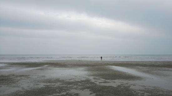 Dongxing, Kina: Wanwei beach