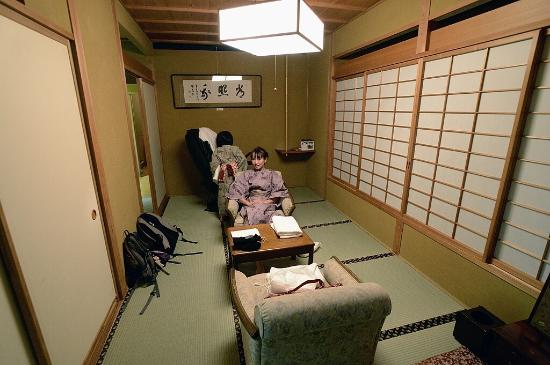 Luxury gold level ryokan for visiting Monkey Park