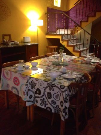 Solar Soler Bed & Breakfast: Breakfast area - try the homemade yoghurt! It's delicious.