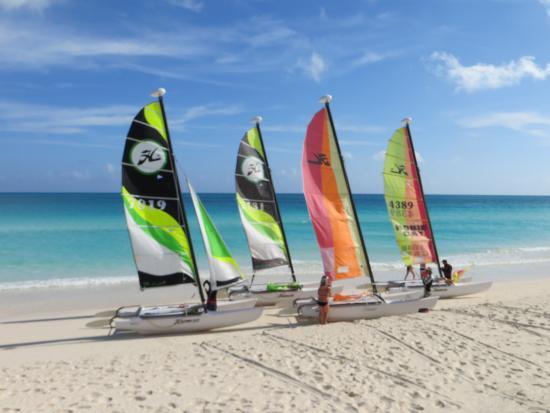 Cubakiters: spiaggia di cajo Santa Maria