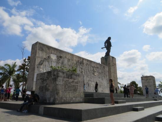 Cubakiters: mausoleo del Che