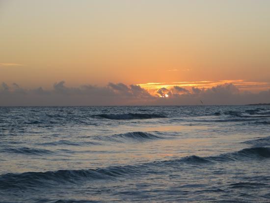 Cubakiters: il tramonto dalla spiaggia