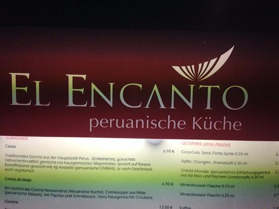Restaurant El Encanto: Название при входе