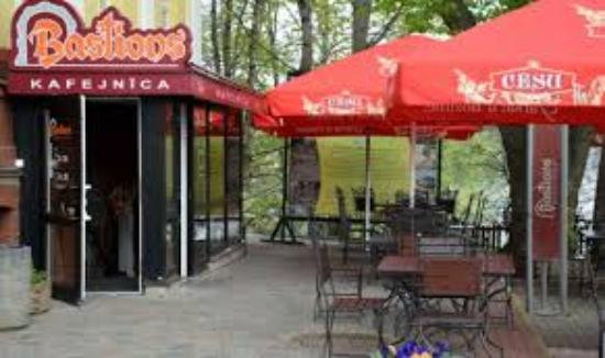 Валмиера, Латвия: Cafe Bastions