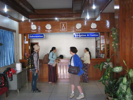 la r ception picture of princess hotel kyaing tong kengtung rh tripadvisor com