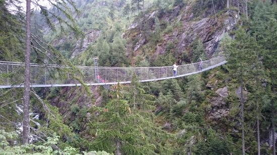 Rohrmoos-Untertal, Österrike: Hanging Bridge