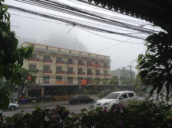 Aonang Goodwill: View from hotel's lobby