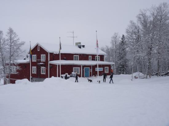 Borgafjall, สวีเดน: Le restaurant