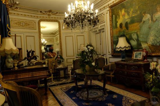 Hotel l'Ecrin : Salon du rez de chaussée