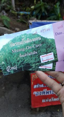 Tham Meuang On : ค่าบัตร