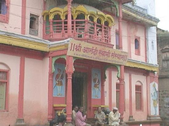 The Anandi Swami Temple in Jalna was built by the Maratha warrior Mahadji Shinde on the place wh
