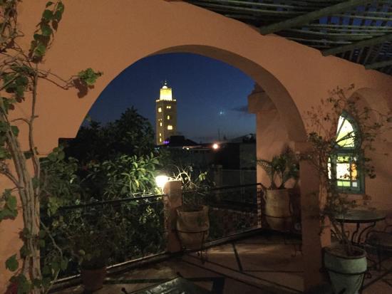 Riad Catalina: Vue de terrasse chambre 307 & 308
