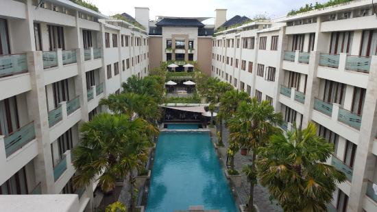 Aston Kuta Hotel & Residence: View from room