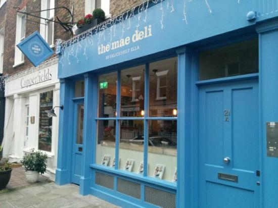 Photo of Cafe The Mae Deli at 21 Seymour Place, London W1H 5BH, United Kingdom