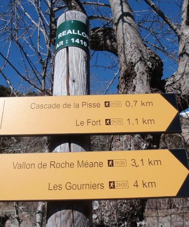 Reallon, Francja: Cascade de la pisse