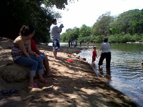 Rio Gatun, Panama: Cuenca del río Santa María. Norte de la provincia de Veraguas. Santa Fe