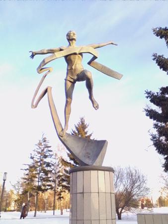 Cкульптура Mарафонец