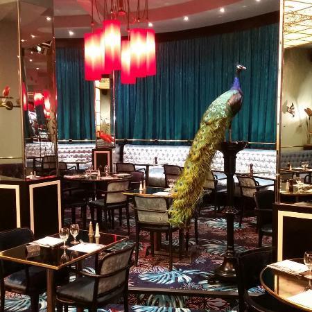 Brasserie Pepiniere : salle du restaurant, MAGIQUE