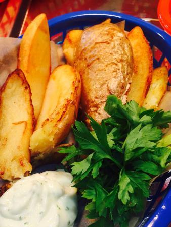 Kilbirnie, UK: Potato Skins