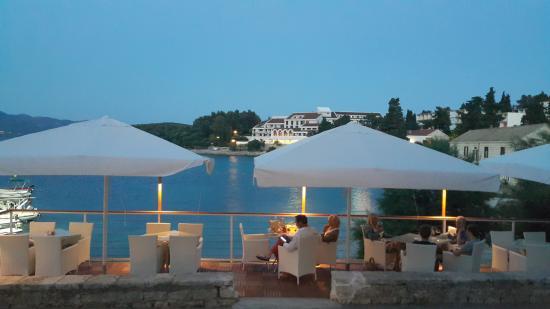 Hotel Korsal: sea terrace