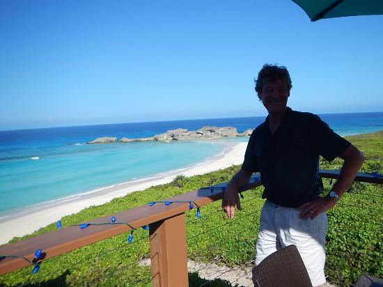 M & M Taxi & Tours : View from Blue Horizon Beach Bar