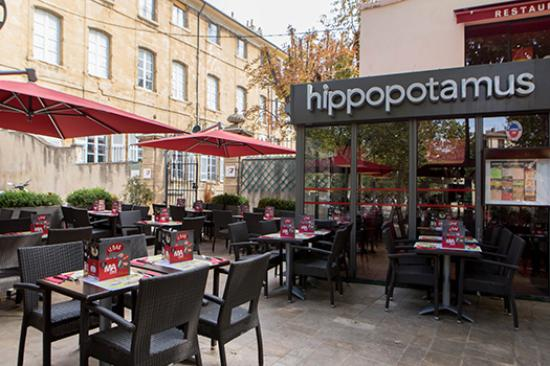 hippopotamus aix en provence 1 avenue victor hugo restaurant avis num ro de t l phone. Black Bedroom Furniture Sets. Home Design Ideas