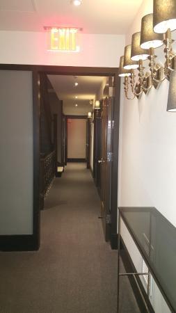 The Evelyn: Hallway