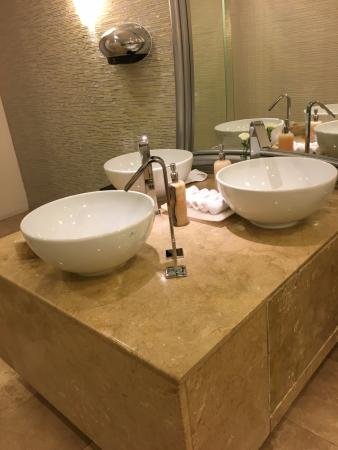 I Loved The Sink Setup In The Public Restroom Picture Of Le Blanc - Bathroom sink set up