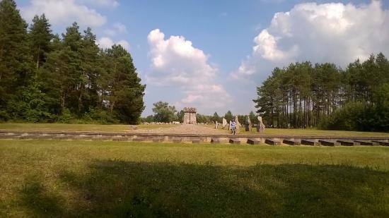 Central Poland, Polandia: Treblinka Monument