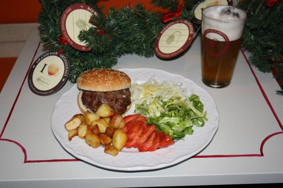 Birrificio Cortonese: il nostro Hamburger