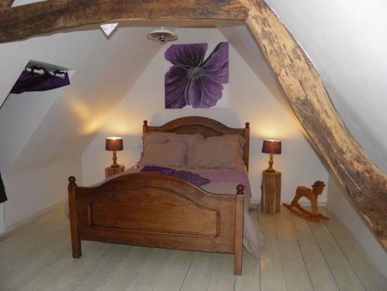 chambre Normandie blanc écolo et romantique  Picture of