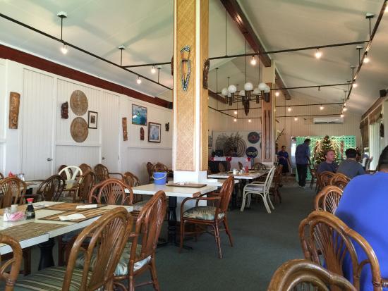 Truk Blue Lagoon Resort : Resturant
