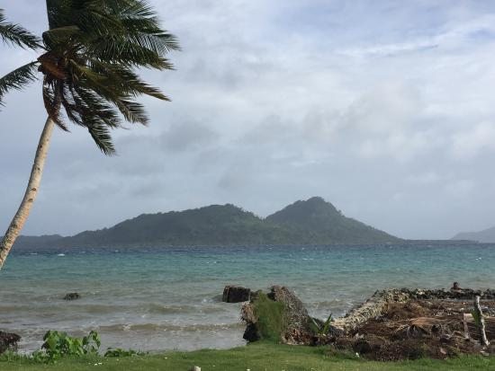 Truk Blue Lagoon Resort: View from grounds