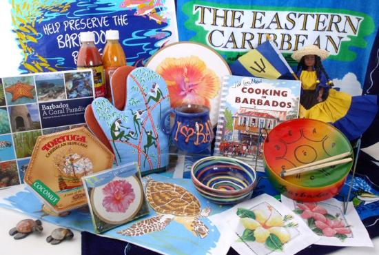 Holetown, Barbados: Loads of colourful gifts for all pockets