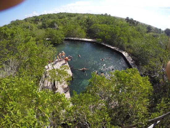 Holbox Island, Mexico: Cenote de Yalahau