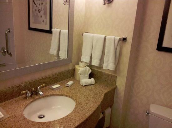 Bathroom Vanity Picture Of Hilton Garden Inn Washington Dc Downtown Washington Dc Tripadvisor