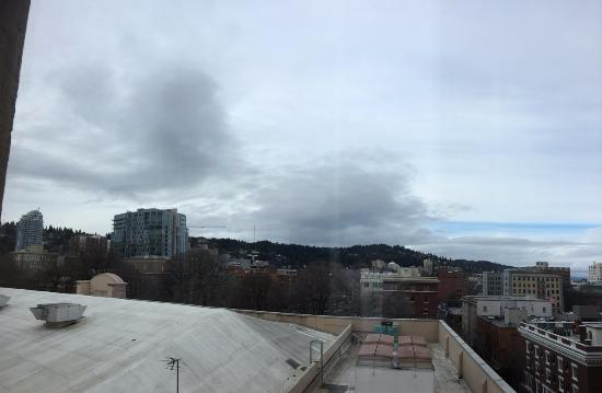 The Heathman Hotel: View from room