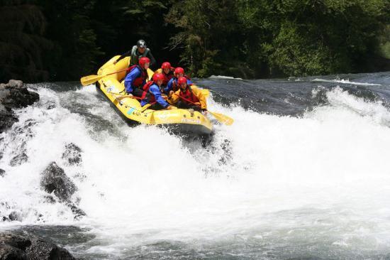 Rigolemo Hostal: rio