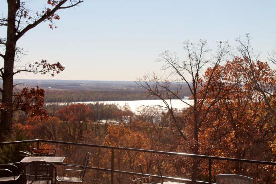 Grafton, IL: View from the Restaurant