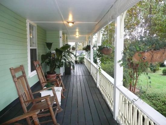 Brady Inn : veranda