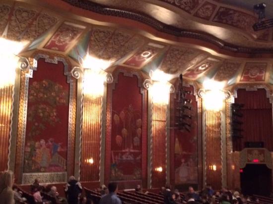 Paramount Theatre Interior Of The Theater